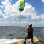 Kiteboarding Lesson Slick
